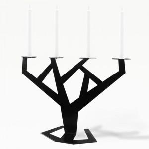 TREE Подсвечник черный