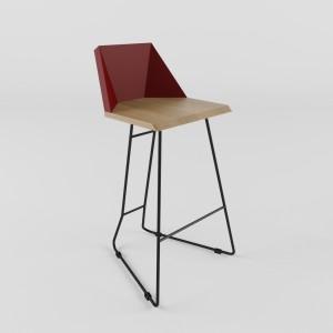 ORIGAMI Барные стулья